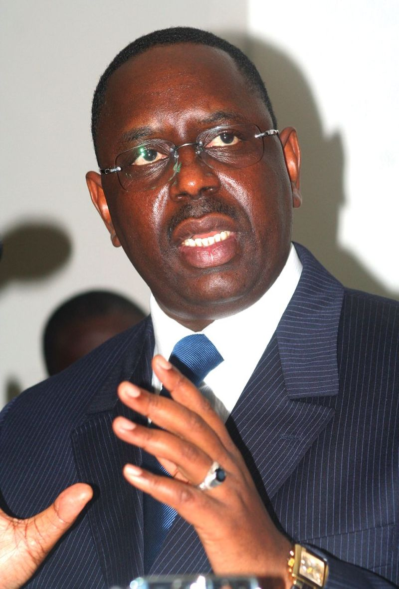 Senegalese President Macky Sall (photo credit: Wikipedia)