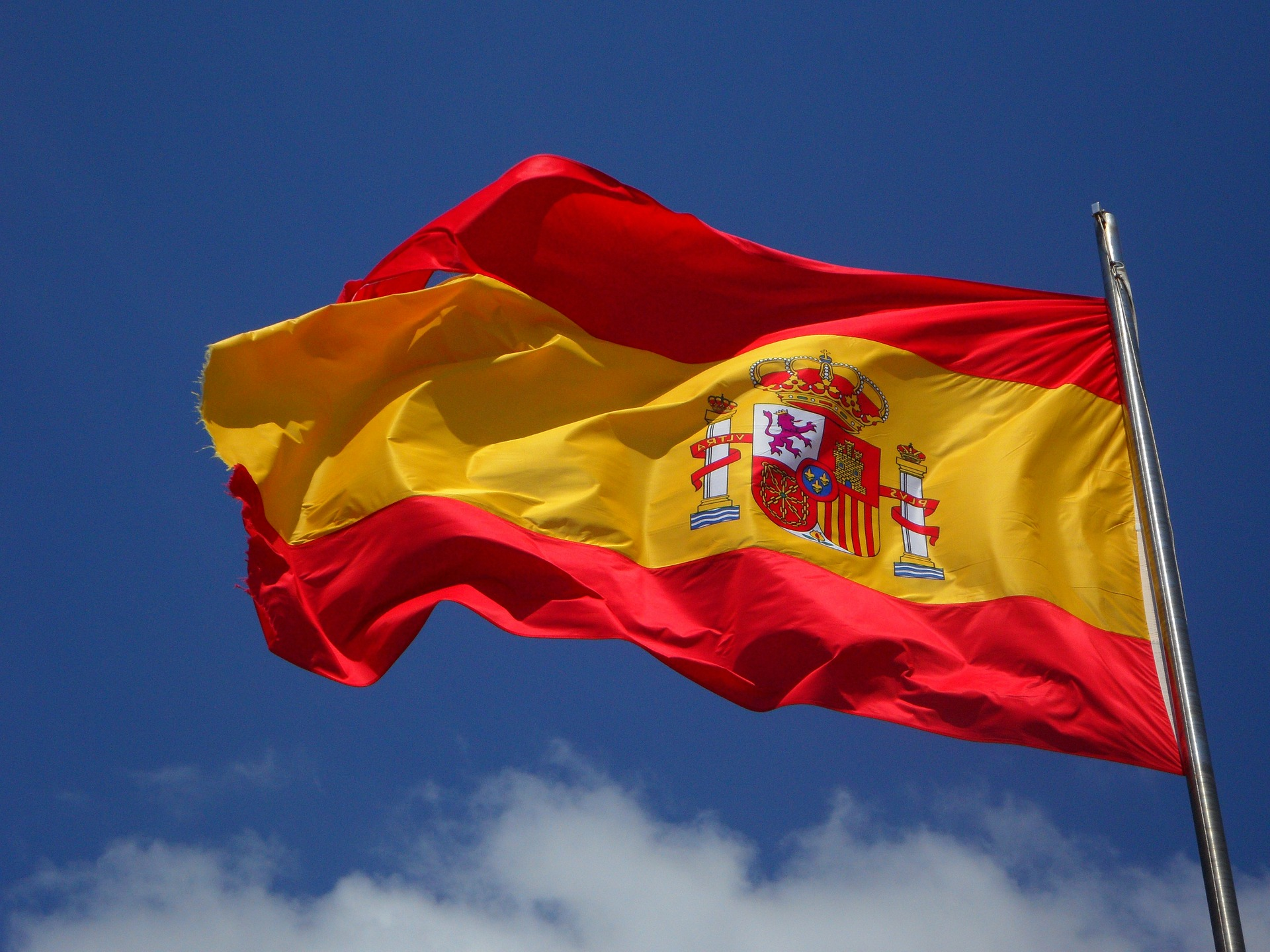 The flag of Spain (Photo credit: Flickr)