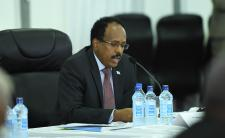 President Mohamed Abdullahi Mohamed Farmaajo of Somalia (photo credit: AMISOM Public Information/flickr)