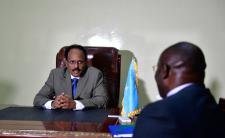 President Mohamed Abullahi Farmaajo of Somalia (photo credit: AMISOM Public Information/flickr)