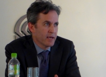 David Kaye: United Nations Special Rapporteur on the protection of the right to freedom of expression (photo credit: Aisa-Plus)
